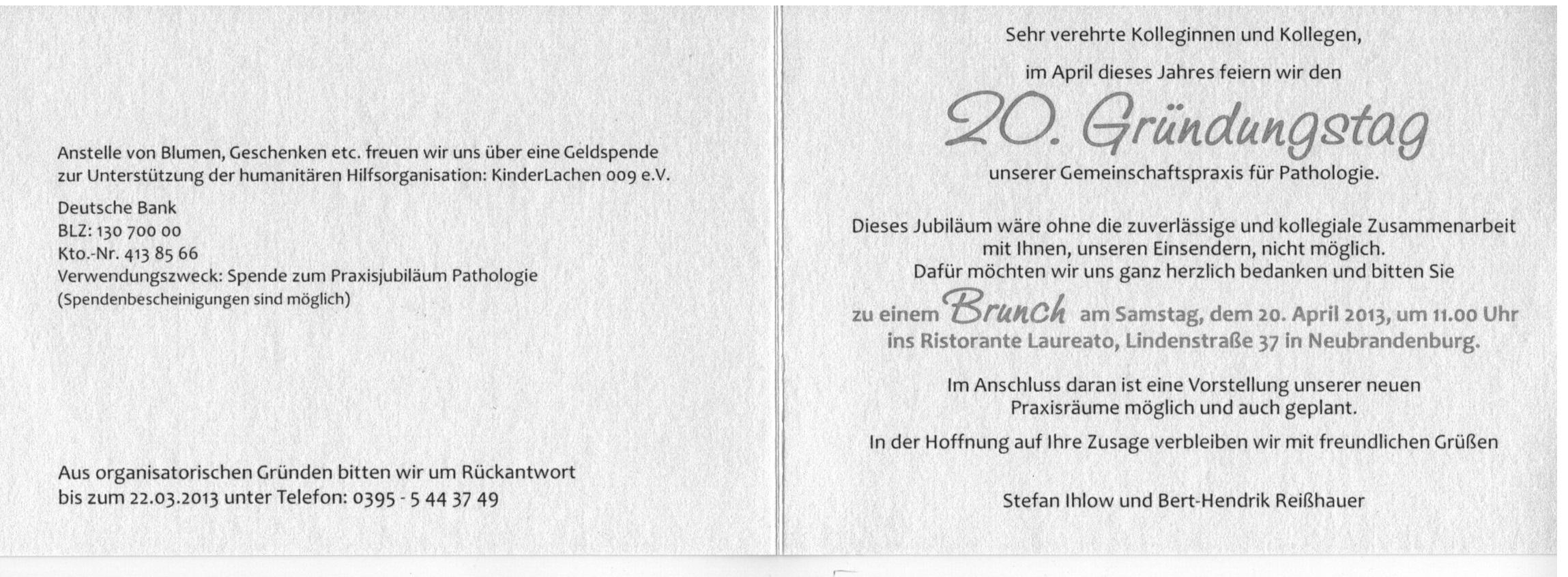 Kinderlachen Mecklenburg E V Archiv 2013